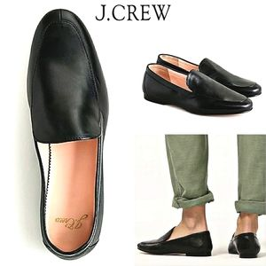 J.CREW Cecile Luxe Leather Smoking Shoe JCREW.COM